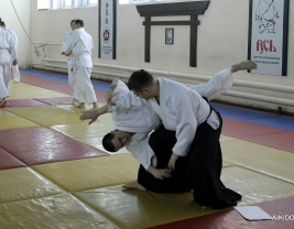 Семинар Айкидо в Новосибирске Корнев В.А.