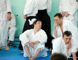 Кристиан Тиссье, 7 дан, сихан в Новосибирске март 2009 год