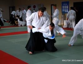 Миямото сихан, семинар Айкидо в Иркутске  2013.08
