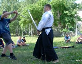 Мастер класс Айкидо для детей разного возраста