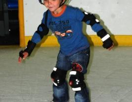 Люблю кататься на коньках
