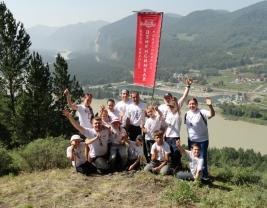 Айкидо лагерь на Алтае 2012