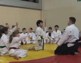 Детские тренировки Айкидо